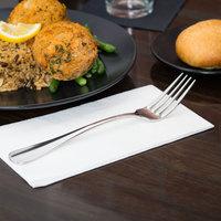 World Tableware 100 039 Baguette II 8 3/8 inch 18/8 Stainless Steel Extra Heavy Weight European Dinner Fork - 36/Case