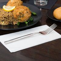 World Tableware 988 027 Zephyr 8 1/8 inch 18/8 Stainless Steel Extra Heavy Weight Dinner Fork - 36/Case