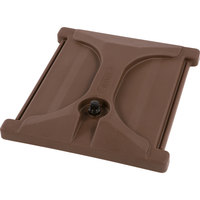 Carlisle XT10001LG01 Brown Lid Assembly for 10 Gallon Beverage Dispenser