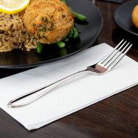 World Tableware 981 027 Sonata 7 7/8 inch 18/8 Stainless Steel Extra Heavy Weight Dinner Fork - 36/Case