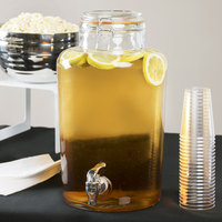 core 2 gallon country glass beverage dispenser - Beverage Dispensers