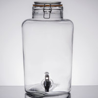 Core 2 Gallon Country Glass Beverage Dispenser