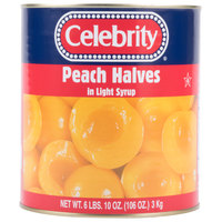#10 Can Peach Halves in Light Syrup