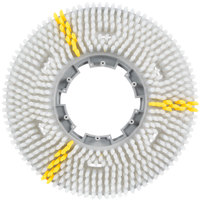 Carlisle 3614VWH EZSnap 14 inch White Value Rotary Daily Cleaning Brush