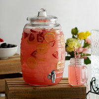 Acopa 2.5 Gallon Barrel Glass Beverage Dispenser