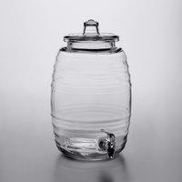 Acopa 2.5 Gallon Barrel Glass Beverage Dispenser