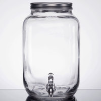 Core 2 Gallon Mason Jar Glass Beverage Dispenser