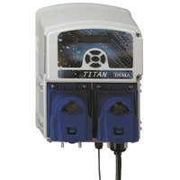 Dema T.812.LL Titan II Liquid Detergent and Rinse Aid Chemical Dispenser Pump