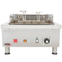 APW Wyott EF-30i 30 lb. Commercial Countertop Deep Fryer - 208V