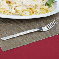 World Tableware 924 027 Porto 18/8 Extra Heavy Weight Stainless Steel 7 5/8 inch Dinner Fork - 36/Case