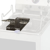 Star 510TBL 8 1/2 inch x 3 1/2 inch x 4 5/8 inch Twin Fryer Basket with Left Hook