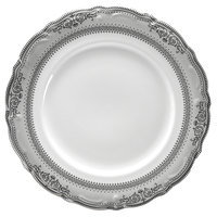 10 Strawberry Street VAN-5P Vanessa 7 inch Platinum Bread and Butter Plate - 24/Case