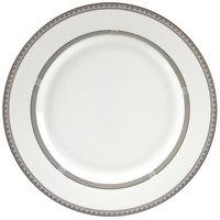 10 Strawberry Street SOP-2 Sophia 9 inch Platinum Luncheon Plate - 24/Case