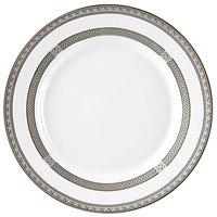 10 Strawberry Street SOP-4 Sophia 8 inch Platinum Salad / Dessert Plate - 24/Case