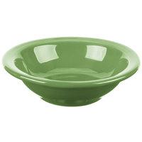 Syracuse China 903046172 Cantina 4 oz. Sage Uncarved Porcelain Fruit Bowl - 36/Case