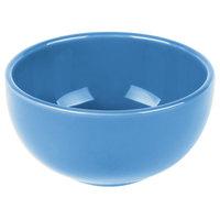 Syracuse China 903043005 Cantina 8 oz. Blueberry Uncarved Porcelain Bouillon - 12/Case