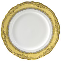 10 Strawberry Street VAN-1G Vanessa 10 3/4 inch Gold Dinner Plate - 24/Case