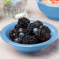 Syracuse China 903043012 Cantina 5 oz. Blueberry Uncarved Porcelain Fruit Bowl - 36/Case