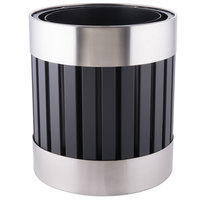 Commercial Zone 727643 Riverview Stainless Steel Planter - 18 1/4 inch X 20 1/2 inch