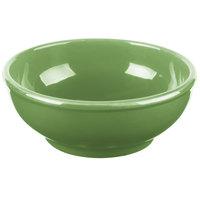 Syracuse China 903046003 Cantina 18 oz. Sage Uncarved Porcelain Oatmeal Bowl - 12/Case