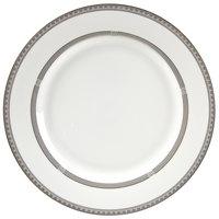 10 Strawberry Street SOP-1 Sophia 10 3/4 inch Platinum Dinner Plate - 24/Case
