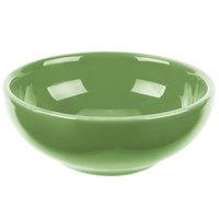 Syracuse China 903046002 Cantina 5 oz. Sage Uncarved Porcelain Salsa Bowl - 12/Case