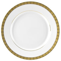 10 Strawberry Street ATH-4G Athens 8 inch Gold Salad / Dessert Plate - 24/Case