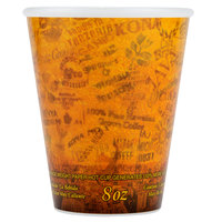 Dart 89U8ESC 8 oz. Fusion Customizable Foam Hot Cup - 1000/Case