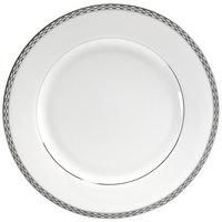 10 Strawberry Street ATH-1P Athens 10 3/4 inch Platinum Dinner Plate - 24/Case