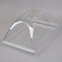 Sample and Display Tray Kit with Clear Polycarbonate Tray and Double End Cut Cover - 12 inch x 20 inch