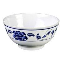 Lotus 25 oz. Round Melamine Rice Bowl - 12/Case