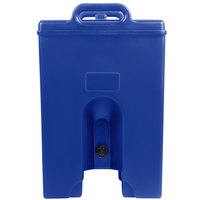 Cambro 250LCDPL186 Camtainer 2.5 Gallon Navy Blue Insulated Soup Carrier