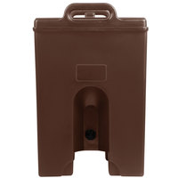Cambro 250LCDPL131 Camtainer 2.5 Gallon Dark Brown Insulated Soup Carrier