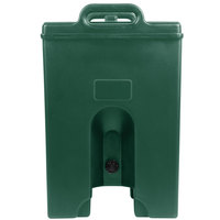 Cambro 1000LCDPL519 Camtainer 11.75 Gallon Green Insulated Soup Carrier