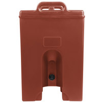 Cambro 1000LCDPL402 Camtainer 11.75 Gallon Brick Red Insulated Soup Carrier