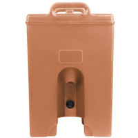 Cambro 500LCDPL157 Camtainer 4.75 Gallon Coffee Beige Insulated Soup Carrier