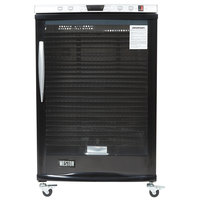 Weston 28-0501-W Steel Alloy 24-Rack Food Dehydrator with Glass Door - 1600W