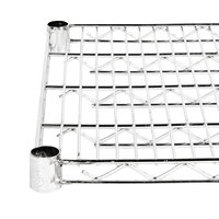 Regency 18 inch x 48 inch NSF Stainless Steel Wire Shelf