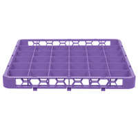 Carlisle RE36C89 OptiClean 36 Compartment Lavender Color-Coded Glass Rack Extender