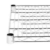 Regency 24 inch x 48 inch NSF Stainless Steel Wire Shelf