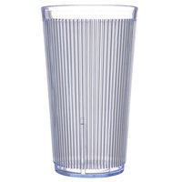 Carlisle 403514 Crystalon RimGlow 20 oz. Ocean Blue Polycarbonate Tumbler - 48/Case