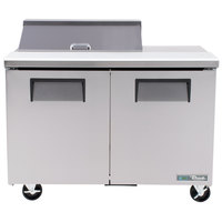 True TSSU-48-8-HC 48 inch 2 Door Refrigerated Sandwich Prep Table