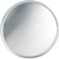 American Metalcraft HACTP23 23 inch Heavy Weight Aluminum Coupe Pizza Pan