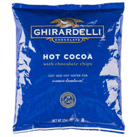 Ghirardelli 2 lb. Hot Cocoa with Chocolate Chips