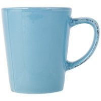World Tableware FH-517H Farmhouse 12 oz. Blue Hen Porcelain Mug - 36/Case