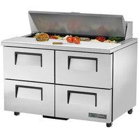 True TSSU-48-12D-4-ADA-HC 48 inch ADA Height Sandwich / Salad Prep Refrigerator