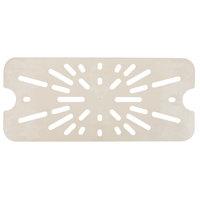 Cambro 20LPHPD772 1/2 Size Long Sandstone High Heat Drain Tray