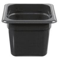Cambro 66HP771 X-Pan 1/6 Size Onyx High Heat Food Pan - 6 inch Deep