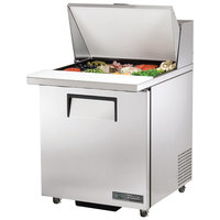 True TSSU-27-12M-C-ADA-HC 27 inch 1 Right Hinged Door Mega Top ADA Height Refrigerated Sandwich Prep Table
