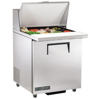 True TSSU-27-12M-C-ADA-HC LH 27 inch 1 Left Hinged Door Mega Top ADA Height Refrigerated Sandwich Prep Table